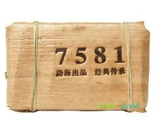 2007 yr 250g Menghai Puer Classical 7581 Puerh Tea Xishuang Banna Aged Pu er Tea