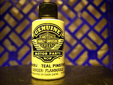 HARLEY NEW OEM NOS TOUCH UP PAINT TEAL PINSTRIPE 98600EU