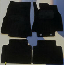 MERCEDES C CLASS 2007 - 2011 AUTOMATIC BLACK QUALITY CAR FLOOR MATS WITH CLIPS B