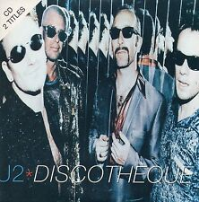 CD Single U2 Discotheque 2-TRACK CARD SLEEVE NEW SEALED - NEUF SCELLE