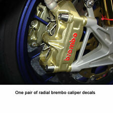 radial front caliper decals for aprilia rsv and rsvr
