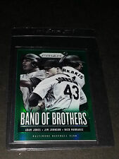 """2013 Panini Prizm #Bb22- Baltimore Orioles """"Band of Brothers"""" Green Prizm! Mint!"""