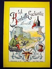 Vintage Children's Imagerie Pellerin La Bouteille Enchantee Storybook Inv1521