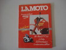 LA MOTO 4/1986 APRILIA TUAREG 125/350/BSA ROCKET/MOTO GUZZI V35/HONDA VFR 750 F
