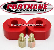 "Prothane 6-1711 99-09 Ford F250 F350 2WD Coil Spring Lift Spacers 2"" Lift Red"