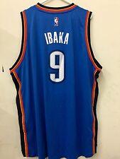 Adidas Swingman 2015-16 NBA Jersey Oklahoma City Thunder Serge Ibaka Blue sz 4X
