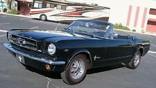 1965 Ford Mustang CONVERTIBLE 289 V8 C CODE AC CAR, GREAT DRIVER!!!