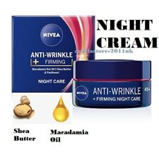 Nivea Anti- wrinkle FIRMING Night Face Cream 45+ with Shea Butter 50 ml