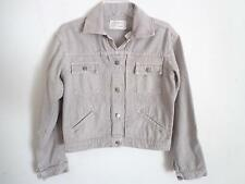Current Elliott the snap jeans jacket beige Size 1 New