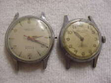 Lot of 2 Vintage antique WWII World War II MILITARY ROYCE + ONSA watch watches