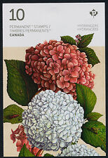 Canada 2900a Booklet MNH Flowers, Hydrangeas