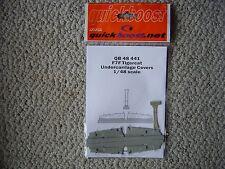Quickboost 1/48 F7F Tigercat undercarriage doors