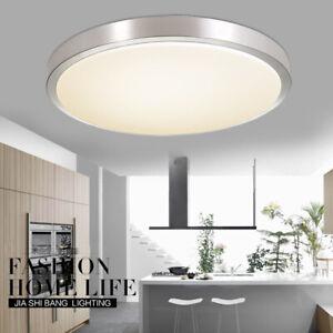 Modern LED Deckenleuchte rund Deckenlampe Badezimmer-Lampe Schlafzimmer Küche