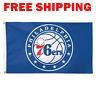 Deluxe Philadelphia 76ers Logo Flag 2018 NBA Basketball Fan Banner 3X5 ft New