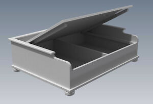 (BUILDING PLANS) FOR DOG & CAT - PET BEDS - 3 SIZES - Build Your Own and Save $$
