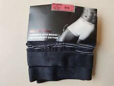 M&S Autograph underwear 2 pack mens hipsters black bnwot XXL