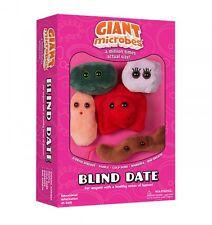 Blind Date Set 5 Mini Plush Microbes Mono Pimple Cold Sore Diarrhea Bad Breath