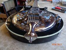 Resonator in L. Paul body electric thinline semi acoustic by Harley Benton
