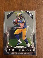 2019 Panini Prizm #330 Darrell Henderson RC Rookie Rams