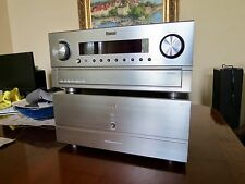 SHERWOOD NEWCASTLE P-965 Preamp/Processor and A-965 Power Amp 7 Channel - NICE!!
