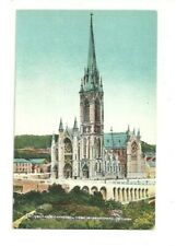 ST. COLMAN'S CATHEDRAL, COBH, QUEENSTOWN, CO. CORK, IRELAND VINTAGE POSTCARD