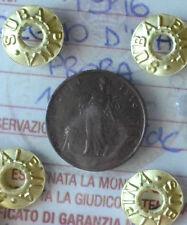REGNO D' ITALIA PRORA 1 CENT 1916 SIGILLATO SPL/FDC NUMISMATICA SUBALPINA