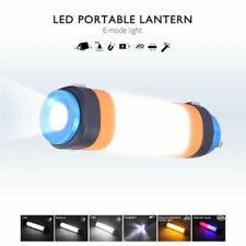 LED Camping Light, 6 Light Modes, IP68 Waterproof, Multi-Function Flashlight