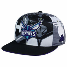 Charlotte Hornets Adidas NBA 2016 All Team Screen Print Snapback Cap Hat Men's