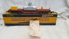 American Flyer AC Gilbert S Gauge Scale 648 Track Cleaning Car Boxed From 1953