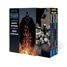 DC COMICS BATMAN N52 COURT OF OWLS DEATH OF FAMILY BOX SET TPB TRADE PAPERBACK
