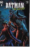 Batman Who Laughs #1 OneStopComicShop Variant signed Johnny Desjardins IN HAND