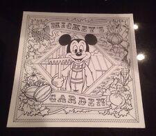 Mickey's Garden Coloring Sheets