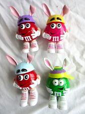 M&M's Minis  4 Different Easter Rabbit Ear Dispensers