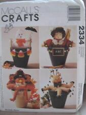 McCall's #2334 Sewing Pattern Michelle Hains Ghost, Teacher, Turkey & Reindeer