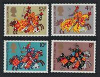 Great Britain Medieval Warriors 4v MNH SG#958-961