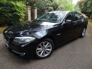 PAINTED BMW 5 Series F10 ( 2011-2017 ) REAR WINDOW SPOILER - GLOSS BLACK