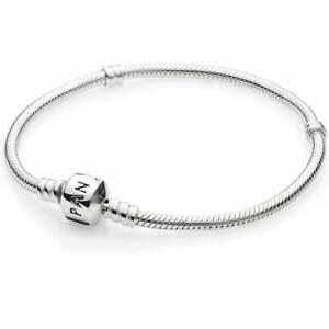 Genuine Pandora Stirling Silver Moments Bracelet WITH BRANDED BOX