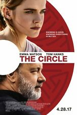 The Circle - original DS movie poster - 27x40 D/S Tom Hanks , Emma Watson