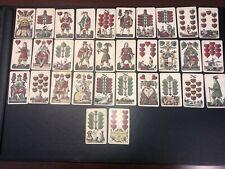 RARE VINTAGE GERMAN PLAYING CARDS-32 Cards