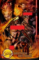 Darth Phoenix & Veranus -- Jean Grey - Rachel Summers -- X-Sith Art