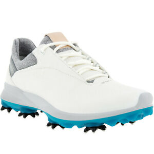 ECCO Womens Biom G3 GORE-TEX Leather Waterproof Golf Shoes - Gravity