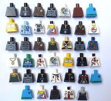 LEGO 40 Body Torso For Minifigure Figure ( No Arms Hands ) City Series & More