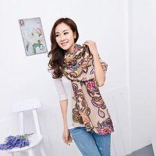 Totem Fashion Soft Chiffon Women Stole Wrap Shawl Silk Scarf