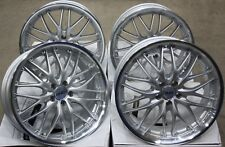 "ALLOY WHEELS X 4 FOR CITROEN C4 GRAND PICASSO JUMPY DISPATCH 18"" SILVER 190"