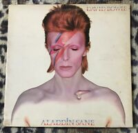 DAVID BOWIE  - Aladdin Sane - 1973 Vinyl LP - RCA RS1001 3T/3T Early 1st +inner
