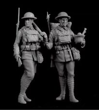 1/35 Resin Figure Model Kit Soldiers WWI 2 Figure Unpainted Unassambled