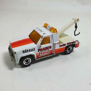 GMC Wrecker Matchbox Int'l Diecast Vehicle Tow Truck 1:72 1987 Frank's