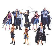 BANDAI Super Modeling Soul One Piece Law`s ambition- 8 pcs Figure Set