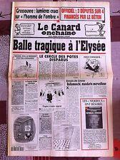 Le Canard Enchainé 13/4/1994; Officiel; 3 députés sur 4 financés par le béton