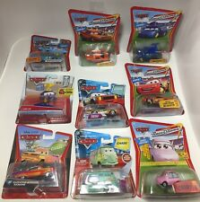 DISNEY PIXAR CARS CHASE CARS LOT OF 9! ALL CHASE CARS!  FREE SHIPPING